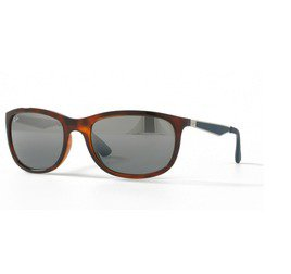 Ray-Ban RB4267 625788 59 - Shiny Red Havana/Mirror Gradient Grey