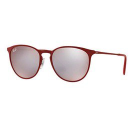 Ray-Ban RB3539 9023B5 54 Erika Metal - Bordeaux/Grey Bordeaux Light Flash