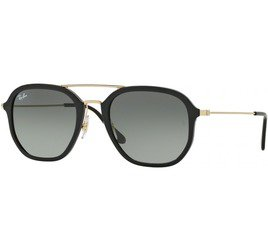 Ray-Ban RB4273 601/71 52 - Black/Green Gradient