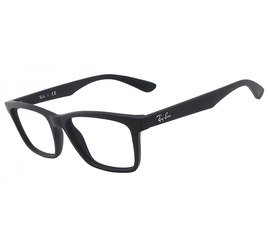 Ray-Ban RB7025 2077 53 Preto Fosco - Active