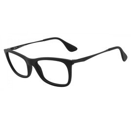 Ray-Ban RB7041L 2000 52 Preto Fosco - Highstreet