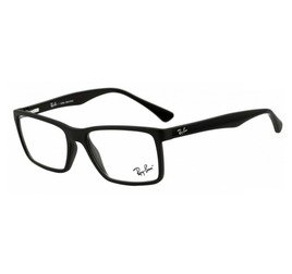 Ray-Ban RB7096L 5656 54 Highstreet - Preto Fosco