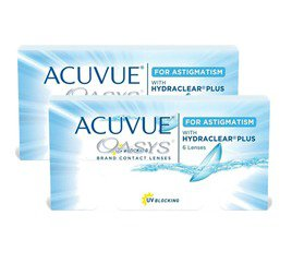 Acuvue Oasys p/Astigmatismo Combo 2 Caixas