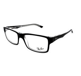 Ray-Ban RB5245 2034 54 Highstreet - Crystal Black