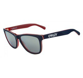 Oakley Frogskins OO204305 - Navy W/Chrome Iridium