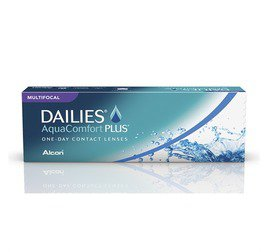 LENTES DE CONTATO DAILIES® AQUACOMFORT PLUS® MULTIFOCAL
