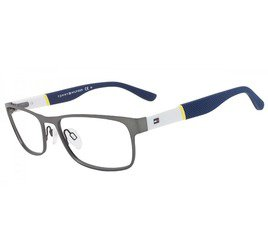 Tommy Hilfiger TH1284 FO5 55 Prata-White/Blue