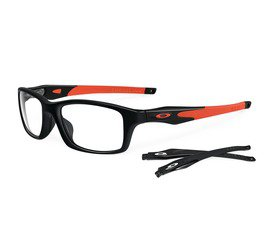 Oakley Crosslink OX8030 0755 - Polished Black/Orange
