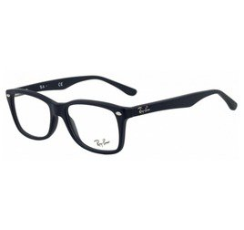Ray-Ban RB5228 5583 53 Preto Fosco - Highstreet
