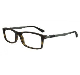 Ray-Ban RB7017 5200 54 Tartaruga/Marrom - Active