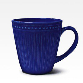 Caneca Relieve azul royal