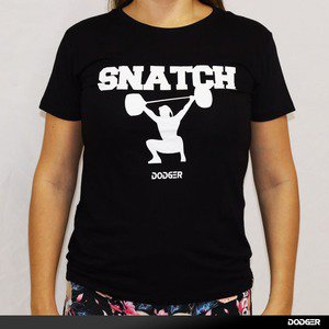 Camisa Feminina DODGER Snatch - Black