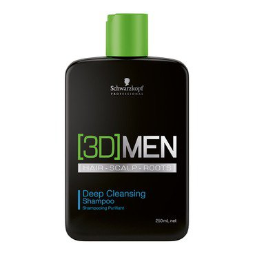 Shampoo Anti-oleosidade 3D Men Deep Cleansing Shampoo 250ml