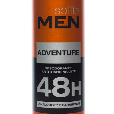 Desodorante Antitranspirante Soffie Men Adventure