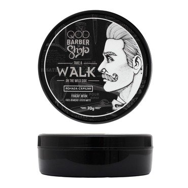 Pomada Modeladora QOD Barber Shop Take A Walk On The Wild Side 70g