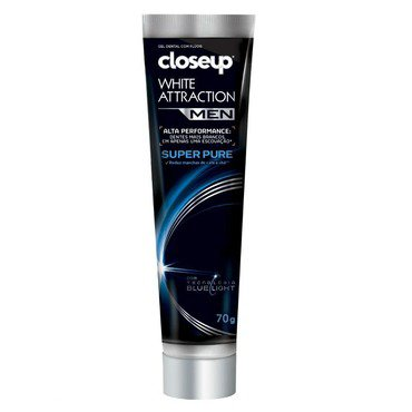 Creme Dental Branqueador Close Up Men Super Pure