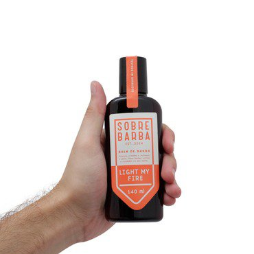 Balm de Barba Sobrebarba Light My Fire 140ml