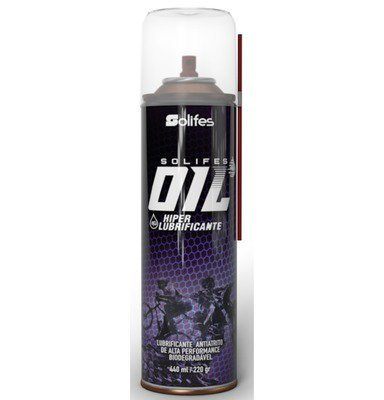 Hiper Lubrificante Para Corrente Solifes Oil Spray 440ml