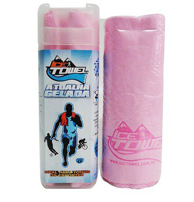 Toalha gelada Ahead Sports Ice Towel Rosa