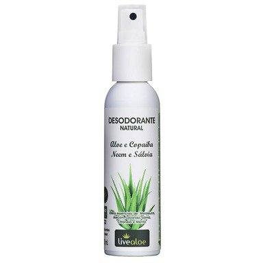 Desodorante Aloe Vera Natural - Live Aloe (120ml)