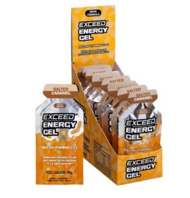 Exceed Energy Gel - Salted Caramel - 10 Sachês 30g