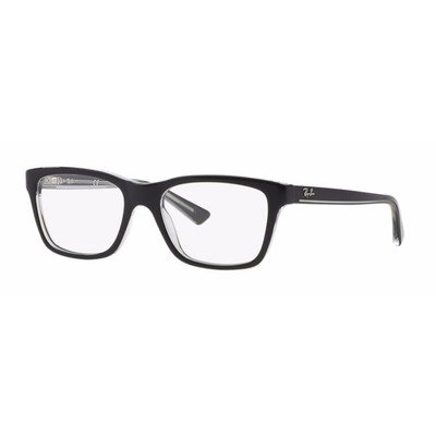 Ray-Ban Junior RY1536 3529 48 - Top Black On Transparent,Ray-Ban