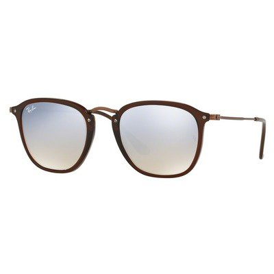 Ray-Ban RB2448N 62569U 51 - Transparent Brown/Grey Flash Mirror,Ray-Ban