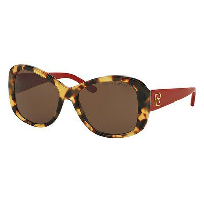 Ralph Lauren RL8144 500473 56 - Shiny Spotty Tortoise/Brown,RALPH LAUREN