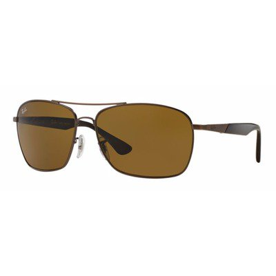 Ray-Ban RB3531L 178/73 64 Active - Bronze Escovada/Marrom,Ray-Ban