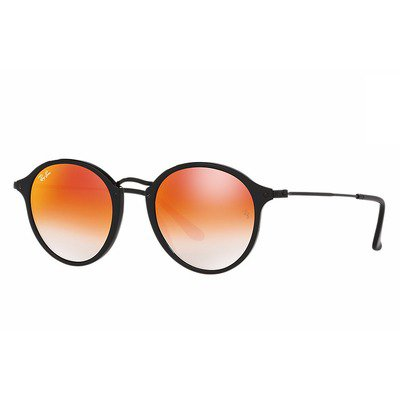Ray-Ban RB2447 901/4W 49 Round Fleck - Flash Lenses Gradient,Ray-Ban