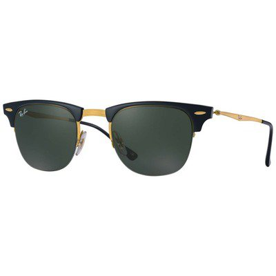 Ray-Ban RB8056 157/71 51 Clubmaster Light Ray - Black-Gold/Green Classic,Ray-Ban