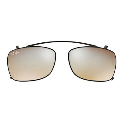 Ray-Ban Clip On RX5228C 2509/B8 53 - Black/Gradient Grey Mirror,Ray-Ban