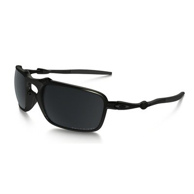 Oakley Badman OO6020-01 6021 - Dark Carbon/Black Iridium Polarized,OAKLEY