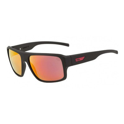 HB Redback 9011670290 - Matte Black D.Red/Red Chrome Lenses,HB