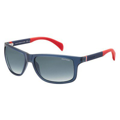 Tommy Hilfiger TH1257S 4NK JJ 59 - Dark Blue Red/Gray Gradient,TOMMY HILFIGER