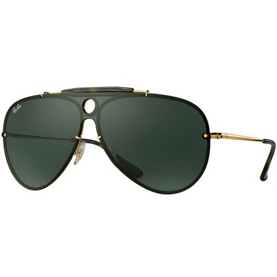 Ray-Ban Blaze Shooter RB3581N 001/71 32 - Gold/Green Classic,Ray-Ban