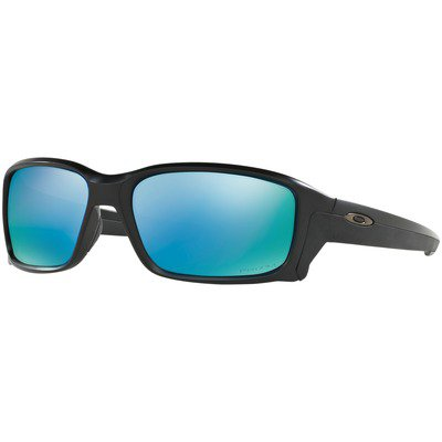 Oakley Straightlink OO9331-05 6117 - Matte Black/Prizm Deep Water Polarized,OAKLEY