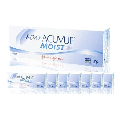 1-Day Acuvue Moist  Combo 8 Caixas,Acuvue Johnson e Johnson