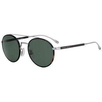 Hugo Boss BOSS 0886/S 6LB 85 55 - Ruthenium-Havana/Green,BOSS by HUGO BOSS