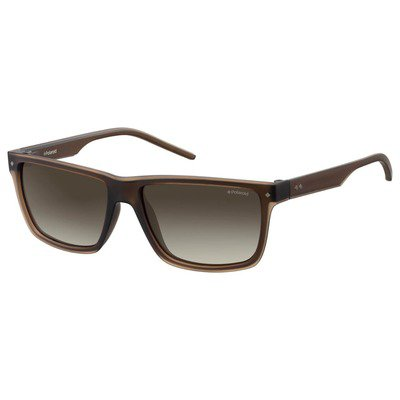 Polaroid PLD2039S JM7 94 57 Contemporary - Brown/Brown Gradient Polarized,POLAROID