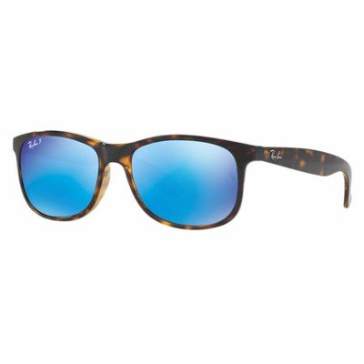 Ray-Ban RB4202 710/9R 55 Andy - Tortoise/Polarized Blue Flash,Ray-Ban