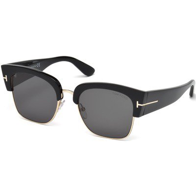 Tom Ford Dakota-02 FT0554 01A 55 - Shiny Black/Grey,TOM FORD
