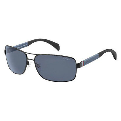 Tommy Hilfiger TH1258S NIO KU 64 - Matte Black/Gray ,POLAROID