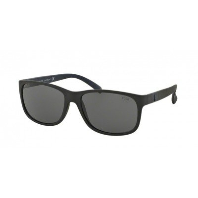 Polo Ralph Lauren PH4109 528487 59 - Matte Black/Gray,POLO RALPH LAUREN