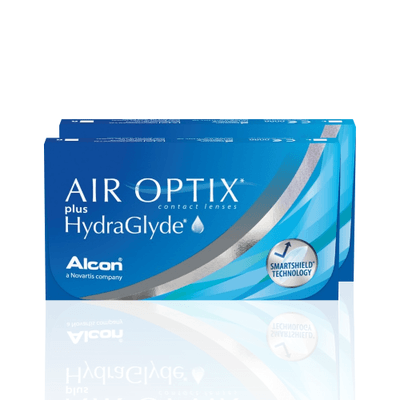 Air Optix Plus HydraGlyde Combo 2 Caixas,Alcon/Ciba Vision