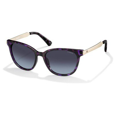 Polaroid PLD5015S LYK WJ 55 Metal Temple - Havana Violet Gold/Gray Gradient Polarized,POLAROID