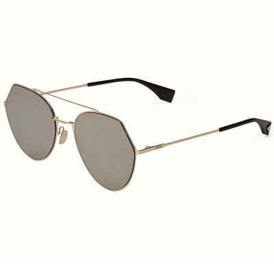 Fendi Eyeline FF0194/S 3YG 0T 55 - Light Gold,FENDI