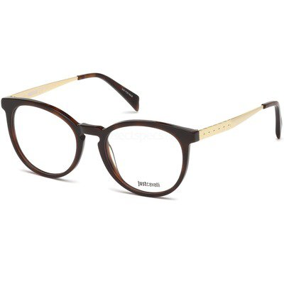 Just Cavalli JC0793 052 51 - Havana/Dourado,Just Cavalli