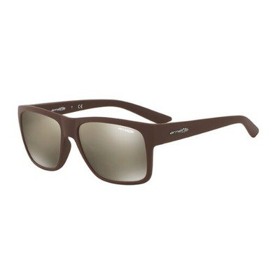 Arnette Reserve AN4226 23805A 57 - Matte Brown/Light Brown Mirror Dark Gold,ARNETTE