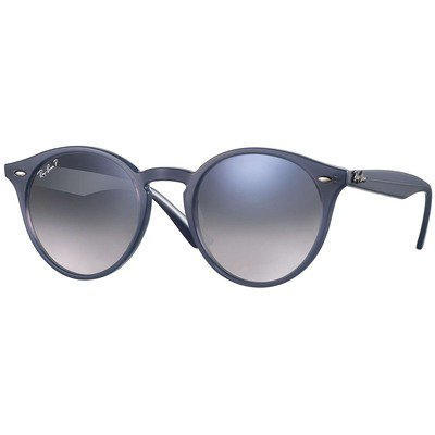 Ray-Ban RB2180 62327B 51 Round - Light Blue/Light Blue Flash,Ray-Ban
